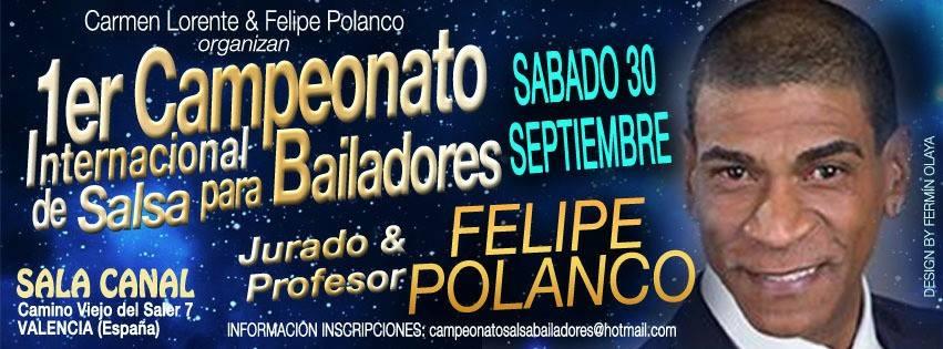 Concours international de Salsa 28-29 septembre 2017 à Valence (Espagne)