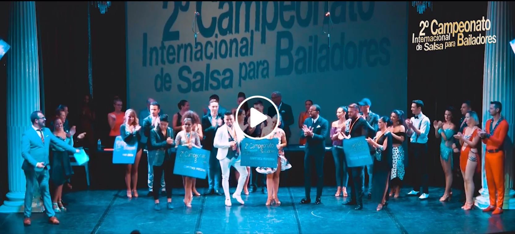 Un résumé en vidéo du second championnat international de salsa à Valencia – septembre 2018