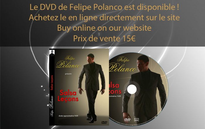 Felipe Polanco, DVD Salsa Lessons 2