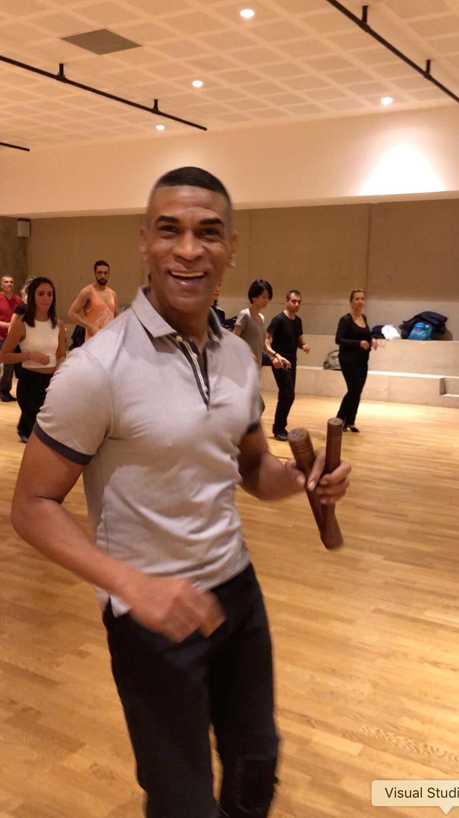 Felipe Polanco, stage de musicalité et Salsa portoricaine le 27/10/2018 au Carreau du Temple